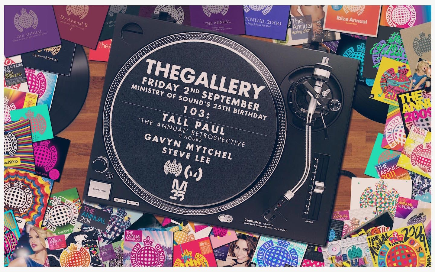 Tall Paul 25 Years of Ministry of Sound Retrospective Mix